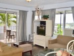 Modern Central Getaway Apt A2 – Amazing Views, Lanai, A/C, Relaxation Garden