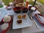 Our unique Sri Lankan breakfast
