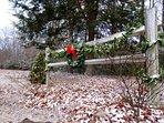 Christmas at Piney Creek Cabins