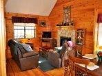 Cherokee Rose_Living Area w Gas Fireplace