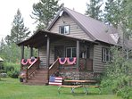 Celebrate Independence Day at Grandma's Cabin