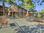 Sit on the spacious deck relishing fresh air and stunning Red Rock views.