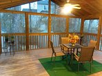 Huge screened porch for outside entertainment!