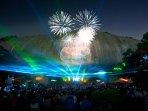 Enjoy nightly laser show at Stone Mountain Park!
