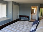 Spacious master suite with dresser, night stand, TV and private bath.  Did I mention lake view!!!!