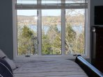 Incredible lake view to start the day!!! WOW Master suite is on main level overlooking the property
