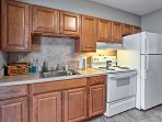 With ample counter space and modern appliances, meal preparation will be a breeze!