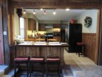 Fully Stocked Kitchen Seats 12.