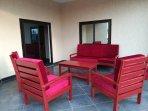 Terrasse meublée