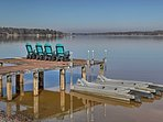 Nestled on the shores  of Lake Greenwood, this property features a private dock, boat ramp and 2 jet ski ports.