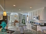 Cooking in this fully equipped kitchen is a real treat!