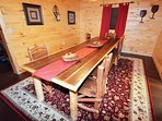 Large Handcrafted Dining Table