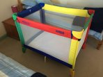 travel cot - available on request