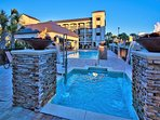 Alerio Offers A Pool, Hot Tub, and Kids Splash Pad