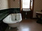 One of the traditional bathrooms