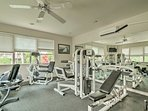 You'll have access to a top-of-the-line fitness center during your stay.