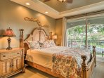 Watch the palm trees sway in the moonlight as you drift to sleep in one of the 2 bedrooms.