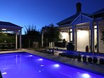 Your private pool and courtyard awaits