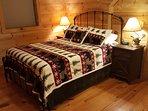 3rd floor bedroom, Queen size bed