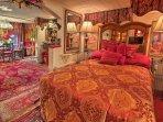 Enjoy the comfortable home furnishings.