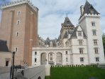 History buffs will enjoy Henry IV's birth place and chateau
