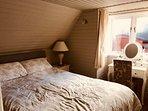 Camera da letto con bagno en suite