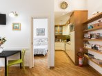 Living and kitchen fully equipped