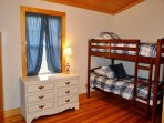 Morning Star Hideaway_Sleeps 10_4 Twins Bedroom_Enchanted Mounta