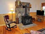 Morning Star Hideaway_Sleeps 10_Wood Burning Fireplace_Enchanted