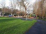 Laugharne park