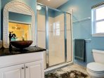 Upper 2nd bath with large shower