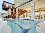 13' Swim Spa to relax or exercise in with the current turned on.