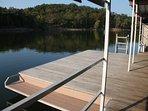 Swim deck.