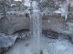 Fall Creek Falls in Winter