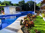 3 amazing pools steps from the condo