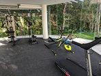 Exercise equipment free for guests