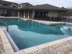 community pool (1 minute walk)