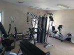 community gym (1 minute walk)