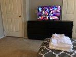 39' TV in master bedroom