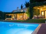Bouganvillia Villa Sani Pool A