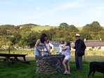 Shared BBQ by the river
