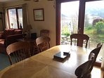 Dining area at Taigh a' Bhraoin