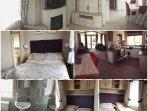 Inside brand new £50000 caravan. Built to modern building regulations. Stunning caravan to rent.