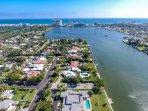 Waterfront Home in Exclusive Neighborhood