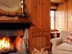 Stoke up a roaring fire and relax with you friends after a long day in the Scottish wilds
