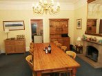 Good size dining room which is next door to the kitchen