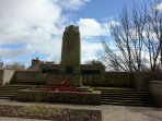 The War Memorial in Dunfermline