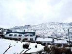 Snowy Snowdonia!