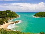 At the Windmill Lookout above Ya Noi Beach, a secret corner of Phuket, just a few minutes drive away
