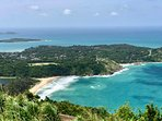 Local view point showing why Nai Harn Beach is voted the Best Beach on the Island